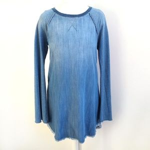 Cloth & Stone Bell Sleeve Ombre Tunic